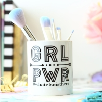Personalised Ceramic Keepsake - Girl Power