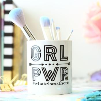 Personalised Ceramic Keepsake - Girl Power