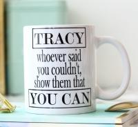 Personalised Ceramic Mug - YOU CAN