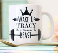 Personalised Ceramic Mug - time to beast