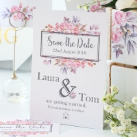 Magnetic Save The Date Cards x10