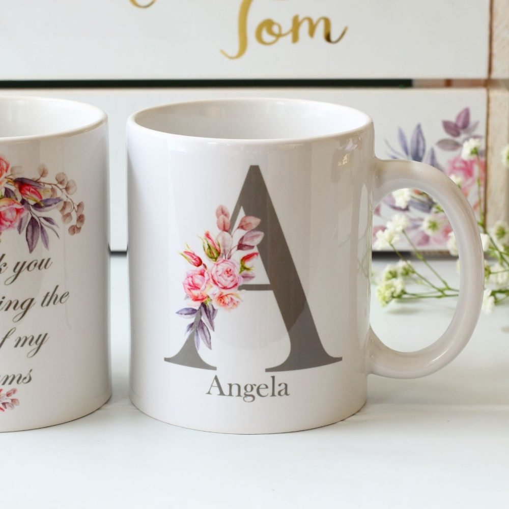 Double sided Bridesmaid Mug