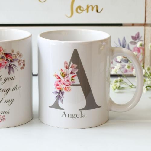 Double sided Bridesmaid Mug