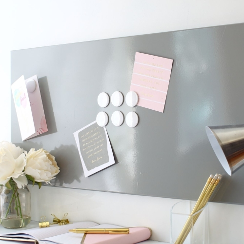 Magnetic noticeboard - Coloured wall panels  P2