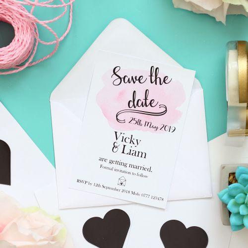 Blush 'Wedding Cards' Box