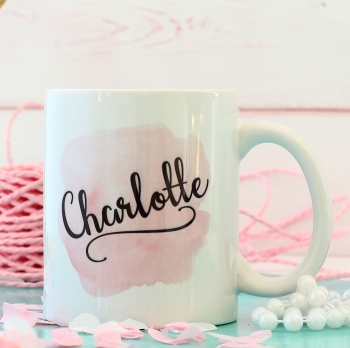 Personalised Ceramic Mug - Blush