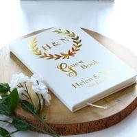 Guest Book - Golden Crest