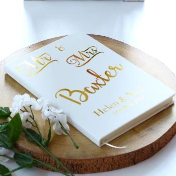 Guest Book - Mr & Mrs