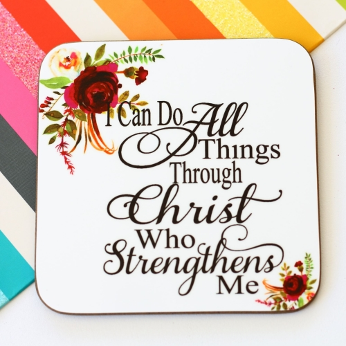 Mini Wood Plaques - Faith is not hoping God can its knowing he will