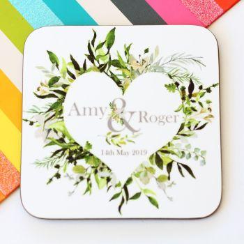 Personalised Coaster - Botanical