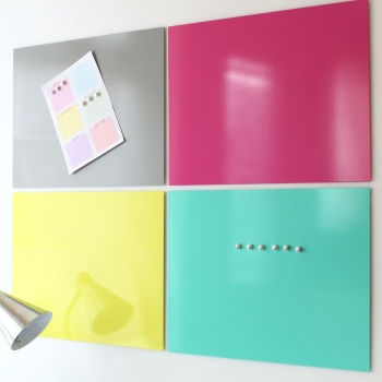 Magnetic noticeboard - Contemporary wall panels - 4 sizes