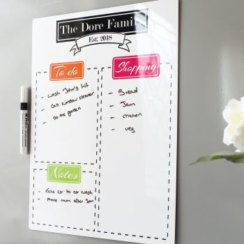 A3 Dryerase Whiteboard - E5