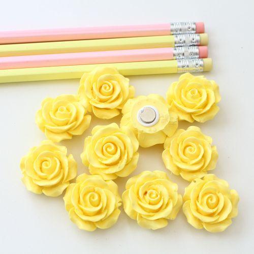 Ornate rose - Lemon