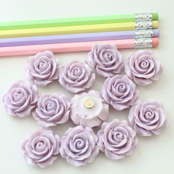 Ornate rose - Lilac