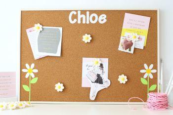 Cork Notice Board - Daisy (C2)