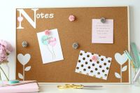 Cork Notice Board - Notes (C4)