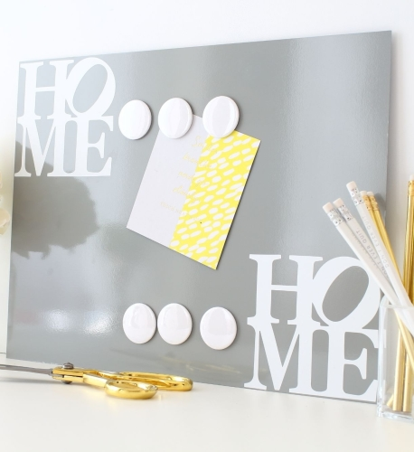 Magnetic notice board - Home