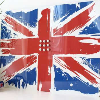Magnetic notice board - Union Jack (D5