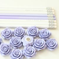Ornate rose - Lavender