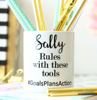 Pen pots - Name rules with these tools