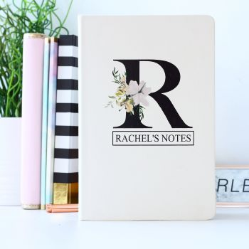 Notebook - Botanical monogram