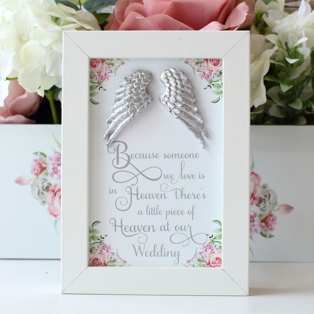 Delicate Florals - Remembrance frame 1