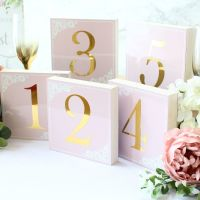 <!-- 015 -->The powder Range - Double sided Table Numbers