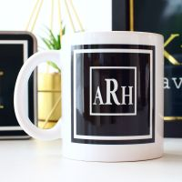 Gifts for Him - Monogram mug
