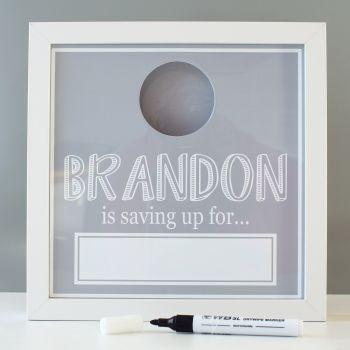 Personalised Dryerase Fund Box