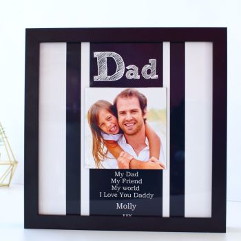 Gifts for Him - Personalised floating photo frame