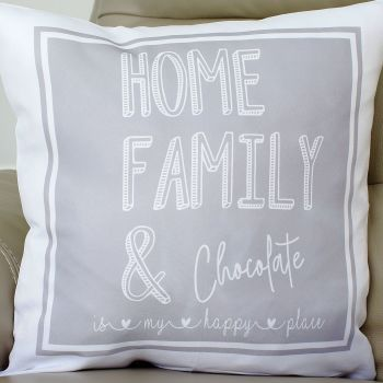 Personalised Cushion Covers - my happy place...