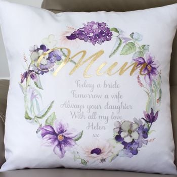 Luxury Cushion Covers - Mother of the Bride/Groom
