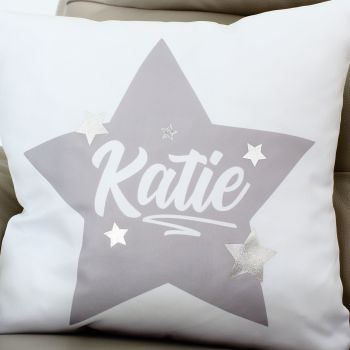 Luxury Cushion Covers - Name in stars