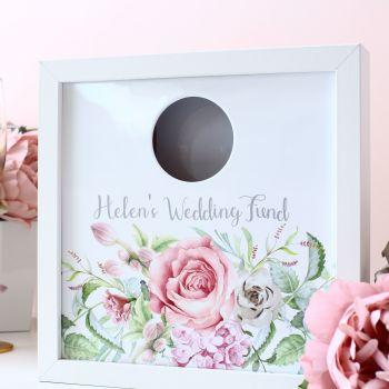 Delicate Florals - Wedding Fund Box