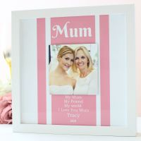 Gifts for Her - Personalised floating photo frame