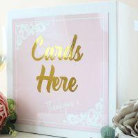 <!-- 016 -->The Powder Range - Wedding Card Box
