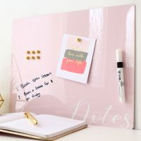 Dry erase magnetic notice board - Notes (D20)