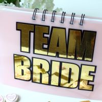 <!-- 007 -->Hen Party - Guest Book (Gold)
