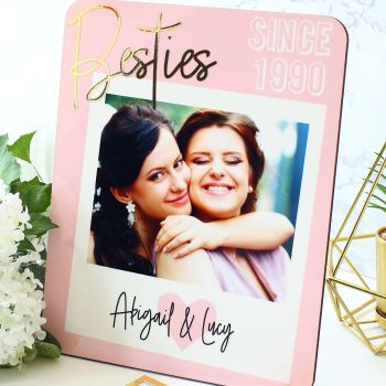 Photo plaque - Besties
