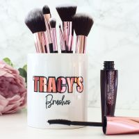 <!-- 095 -->Ceramic pot - Makeup Brushes