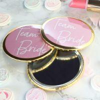 Mirrors - Team Bride - Pink & Gold