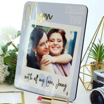 Photo plaque - Thank you Mum