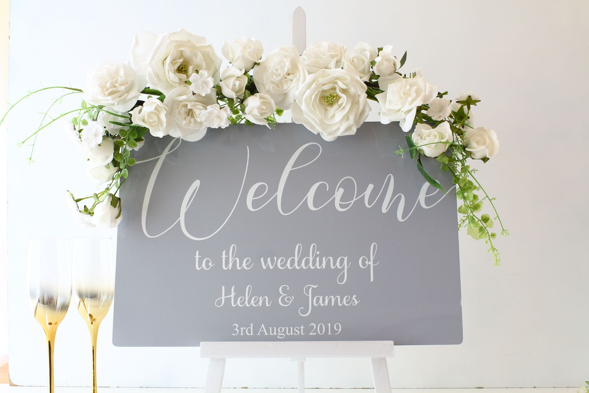 Table Top Welcome Sign