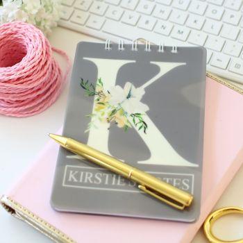 Personalised notebook - N1