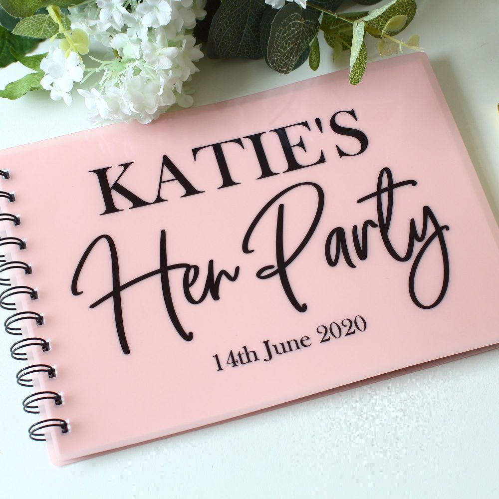 <!-- 008 -->Hen Party - Guest Book
