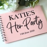 <!-- 087 -->A5 Hen Party - Guest Book  (6 colours)
