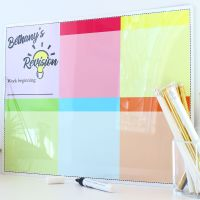 A3 Dry erase - Revision planner - E11