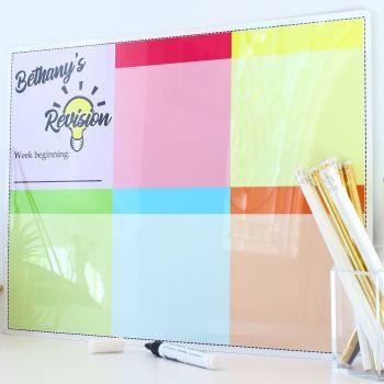 A3 Dry erase - Revision planner - E11