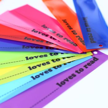 10 x Colourful Bookmarks