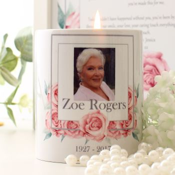 Rose Collection - Memorial Candle